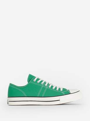 Converse GREEN LUCKY STAR OX SNEAKERS