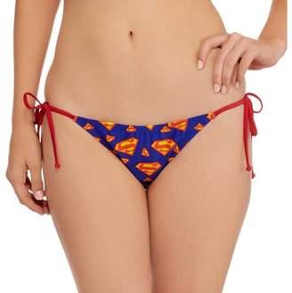 DC Swim Supergirl String Bikini Swimsuit Bottom