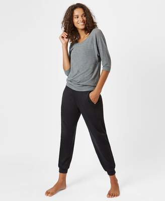 Sweaty Betty Dharana Bamboo Short Sleeve Yoga Tee