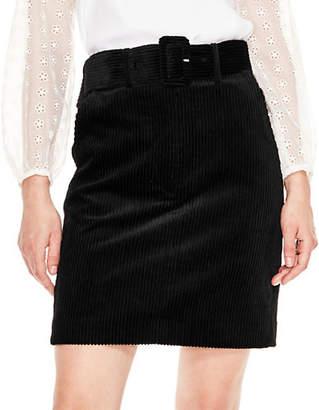 Sandro Notting Hill Libre Ribbed Mini Skirt