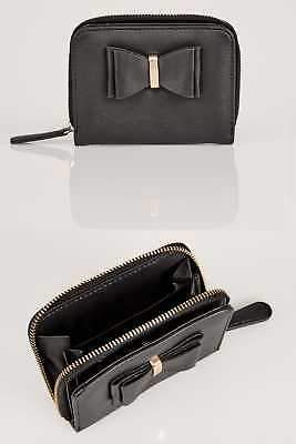 Yours Clothing Women's Purse With Bow Front Detail