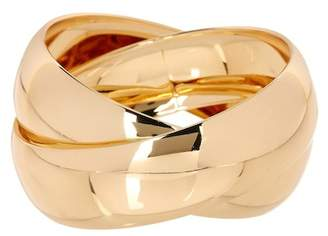 14th & Union Double Cross Entwined Bangle Bracelet