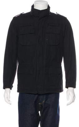 Balmain Hooded Field Jacket