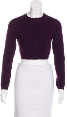 Alaia Knit Button-Up Cardigan