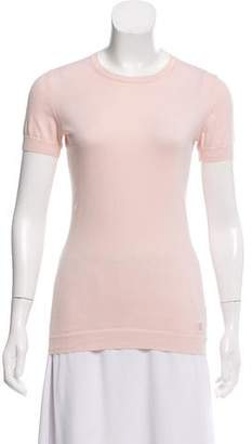 Burberry Knit Short Sleeve Top