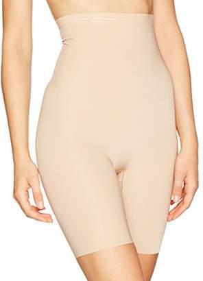 DKNY Intimates Women's Skyline-Essential Microf Thigh Shapewear, Light Glow, L
