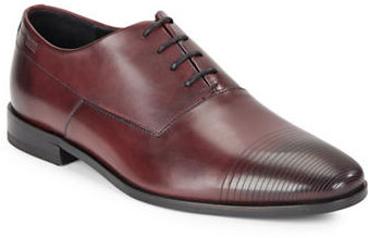 Hugo Boss Hugo Boss Textured Cap Toe Oxfords
