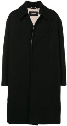 Raf Simons oversized button coat