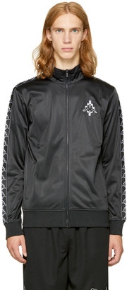 Marcelo Burlon County of Milan Black Kappa Edition Track Jacket $390 thestylecure.com
