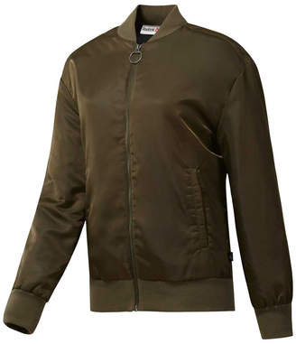 Reebok Womens Training Supply Bomber Jacket