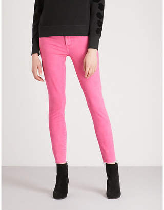 Paige Hoxton distressed skinny jeans