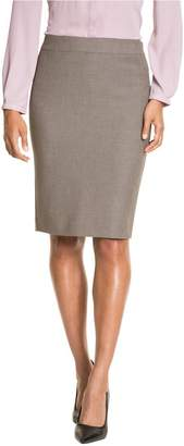 Le Château Women's Tailored Pencil Skirt