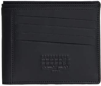 Maison Margiela Black Leather Debossed Logo Wallet
