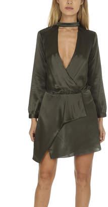 Warehouse Michelle Mason Choker Mini Dress
