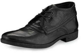 John Varvatos Dylan Distressed-Leather Chukka Boot $398 thestylecure.com
