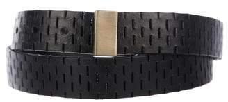 Diane von Furstenberg Kerry Skinny Leather Belt w/ Tags