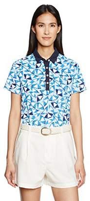 Munsingwear (マンシングウェア) - (マンシングウェア)Munsingwear 半袖シャツ(ニット) JWLJ207 M398ブルー S