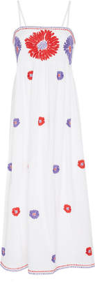 Nimo with Love Gin Bee Floral Cotton Midi Dress