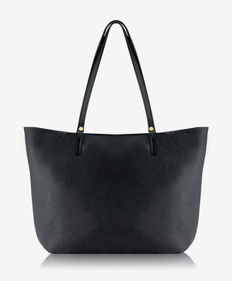 GiGi New York Tori Tote, Black Pebble Grain