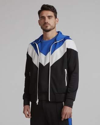 Rag & Bone Color block hoodie