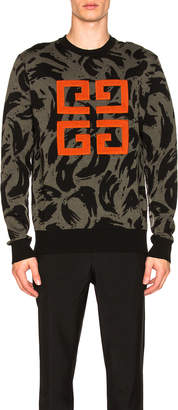 Givenchy 4G Sweater in Black | FWRD