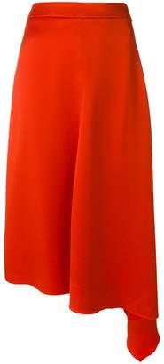 MSGM asymmetric skirt