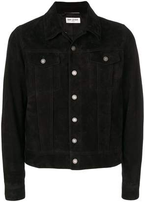 Saint Laurent button-down fitted jacket