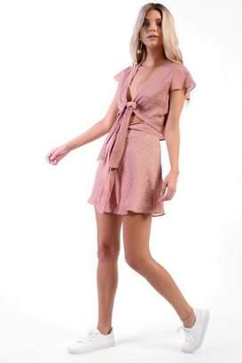 Glamorous Womens **Check Skater Skirt By Petites