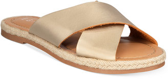 Esprit Venice Crisscross Flat Sandals $39 thestylecure.com