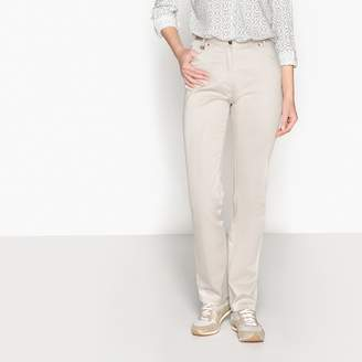 Anne Weyburn Low-Rise Straight Trousers