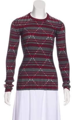 Kenzo Patterned Wool Top w/ Tags