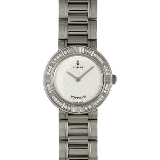 Corum Romulus Silver Steel Watches