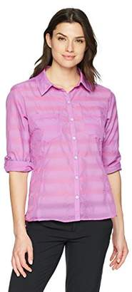 Columbia Women's Summer Trek Plus Size Long Sleeve Shirt