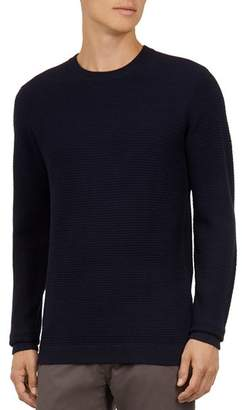 Ted Baker Percypi Textured Crewneck Sweater