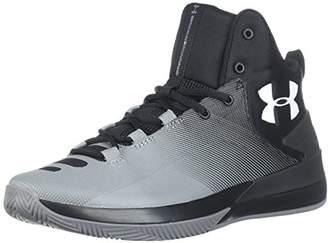 Under Armour Men's Ua Rocket 3 Basketball Shoes (Black 005), 8.5 UK