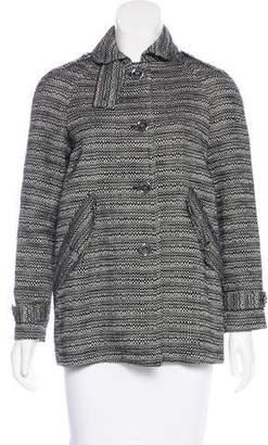 Burberry Tweed Short Coat