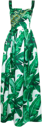 DOLCE & GABBANA Banana leaf-print embellished gown $5,995 thestylecure.com