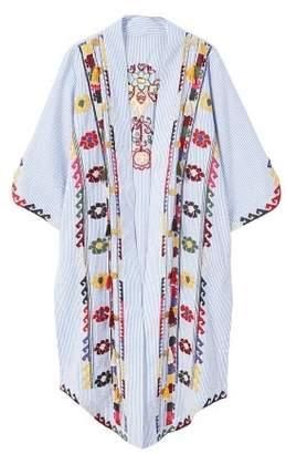 MANGO Embroidered kaftan