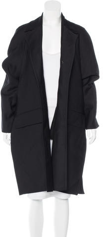 Celine Céline Wool Open Front Coat