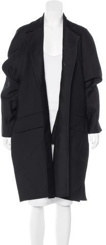 CelineCéline Wool Open Front Coat