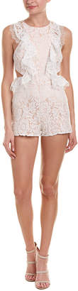 Do & Be DO+BE Do+Be Lace Cutout Romper