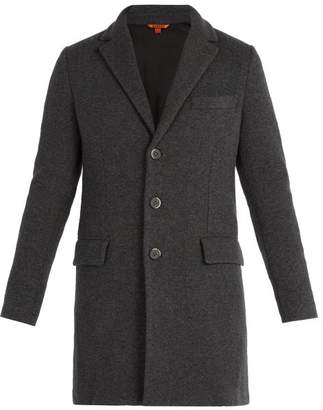 Barena Venezia - Borella Single Breasted Wool Blend Overcoat - Mens - Grey