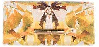 Alexander McQueenAlexander McQueen Printed Flap Clutch