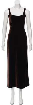 Henri Bendel Velvet Maxi Dress