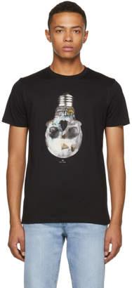 Paul Smith Black Slim Fit Skull T-Shirt
