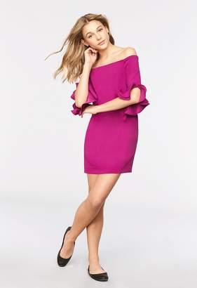 Milly Minis MillyMilly Italian Cady Angle Ruffle Samantha Dress