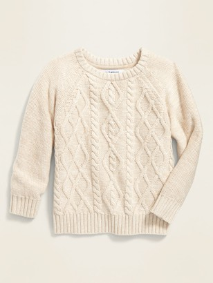 Old Navy Cable-Knit Raglan Sweater for Toddler Boys