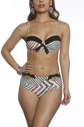 ed46d5dd99a9a Sun & Sea Trading Company Retro High-Waist Bikini