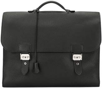 Hermes Pre-Owned Sac A Depeche 41 double business hand bag