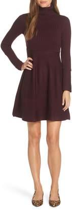 Eliza J Turtleneck Sweater Dress